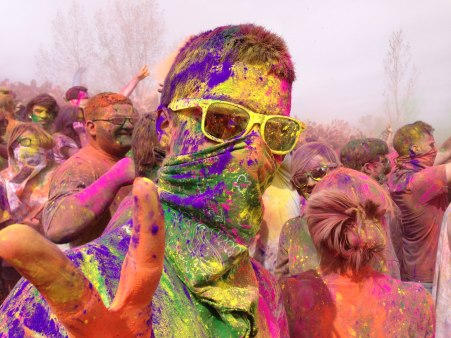 Holi Festival of Colors, American Fork, UT